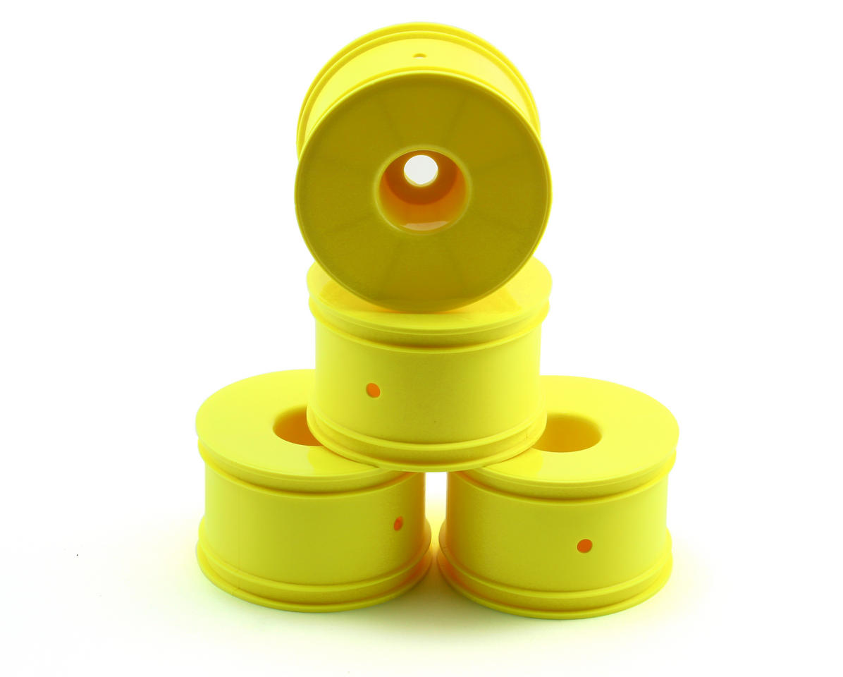 Losi 1/2 Offset Truggy Dish Wheel (4) (Yellow)