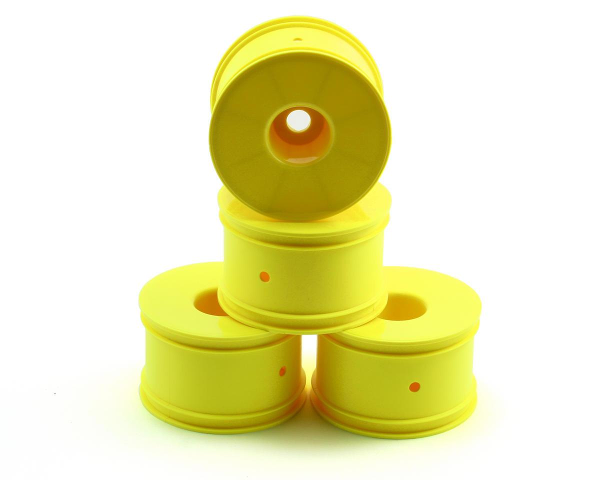 Losi 1/2 Offset Truggy Dish Wheel (4) (Yellow)