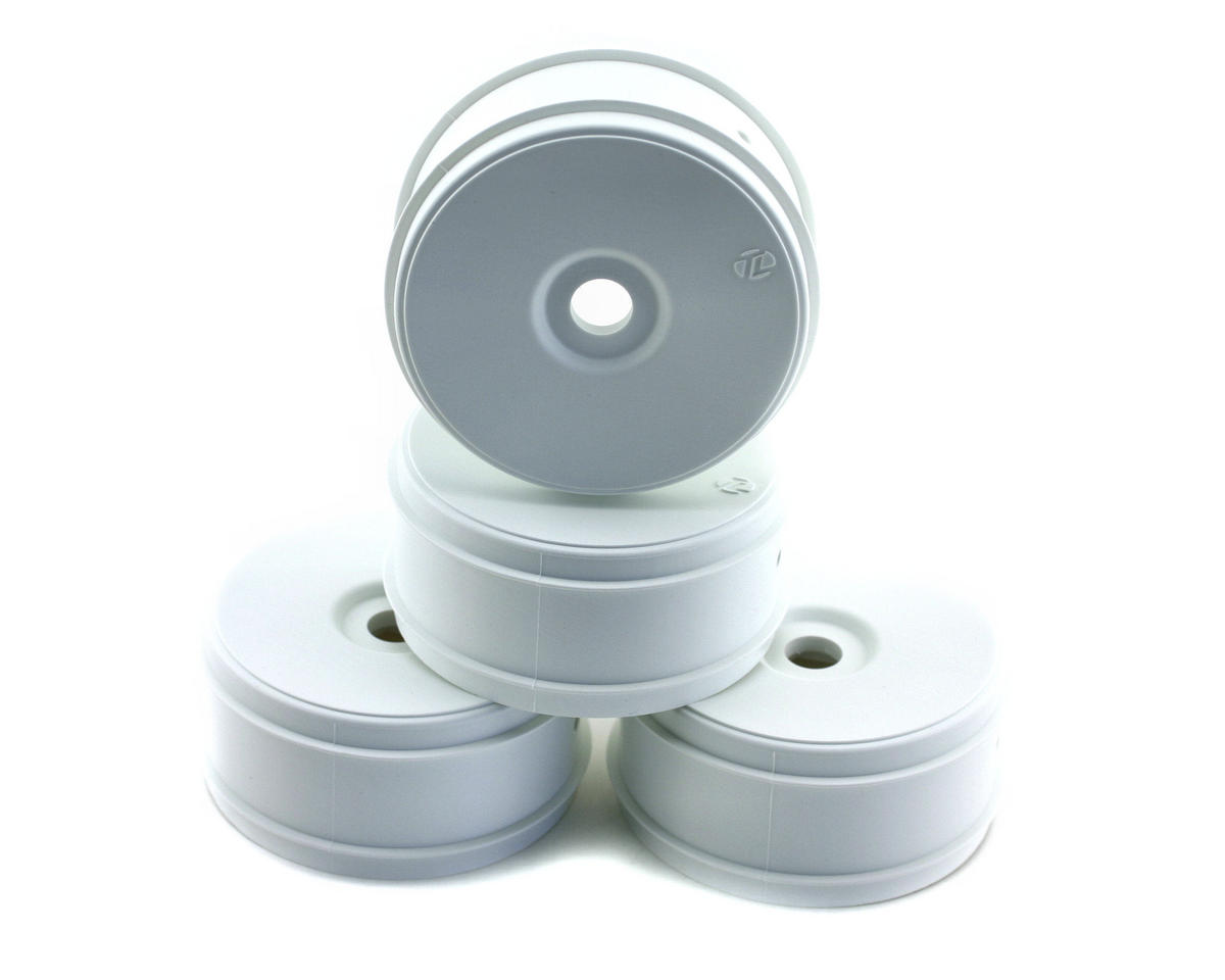 Losi 810 1/8 Buggy Dish Wheels (4) (White)