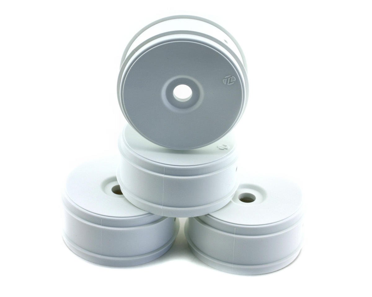 Losi 8IGHT-E 2.0 1/8 Buggy Dish Wheels (4) (White)