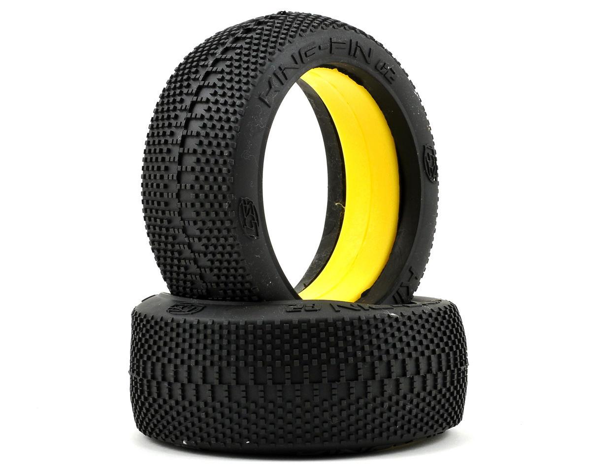 Losi King-Pin G2 1/8 Buggy Tires w/Foam (Green) (2)