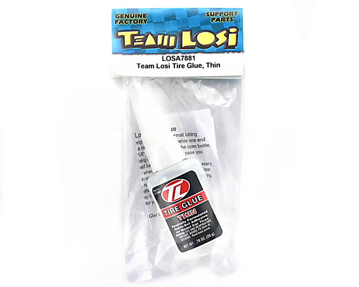 Losi Tread Lock Thin CA Tire Glue (Red)