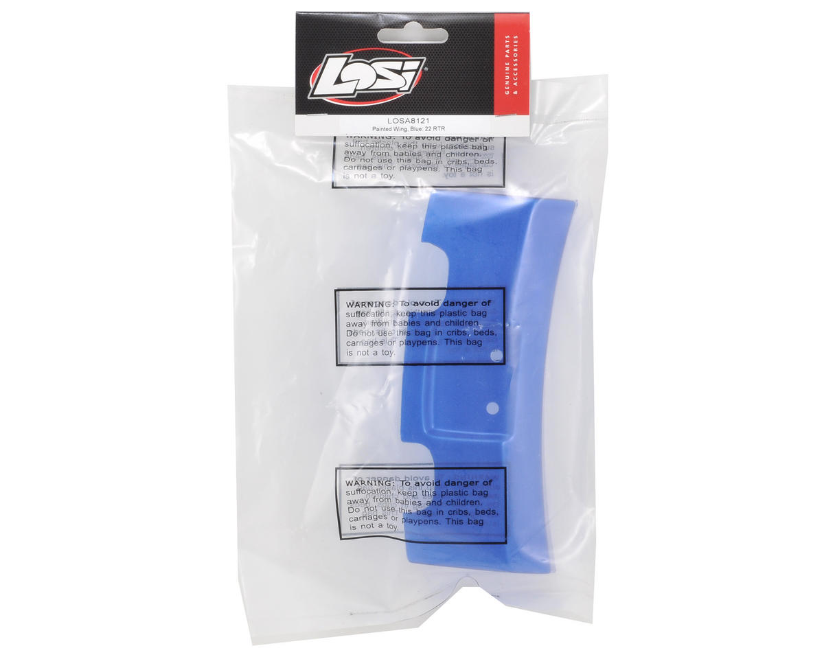 Losi Painted Wing (Blue) (22RTR)