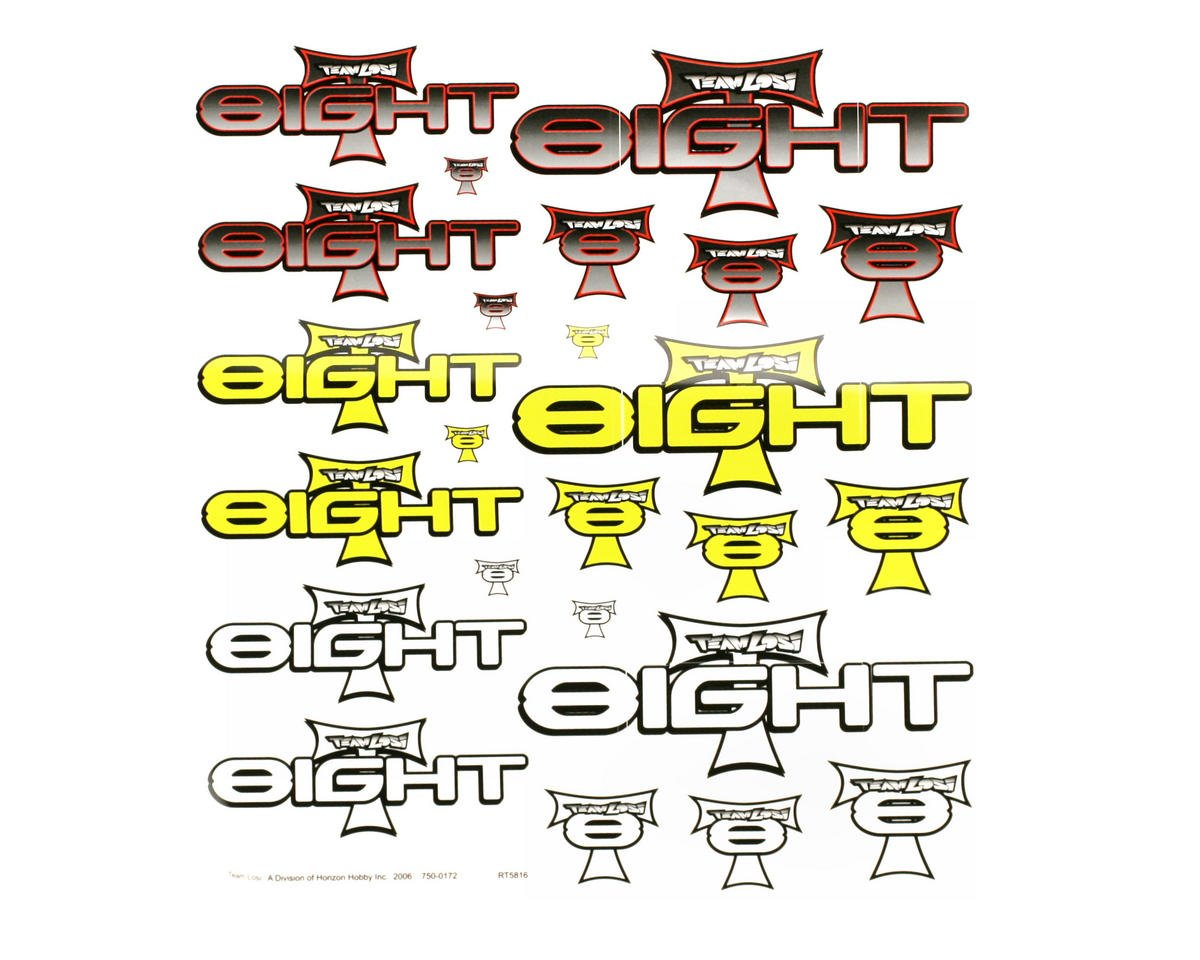 Losi 8IGHT-T Sticker Sheet