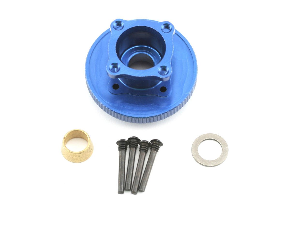 Losi Flywheel & Collet 4 Shoe (Blue): 8B/8T