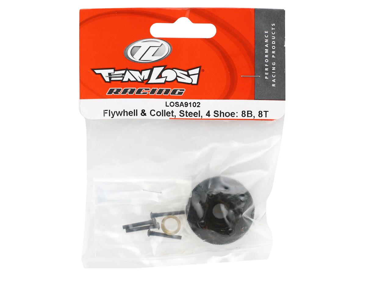 Losi 4 Shoe Steel Flywheel & Collet (8IGHT/8IGHT-T)