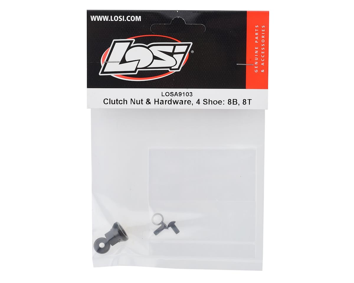 Losi 4 Shoe Clutch Nut & Hardware Set