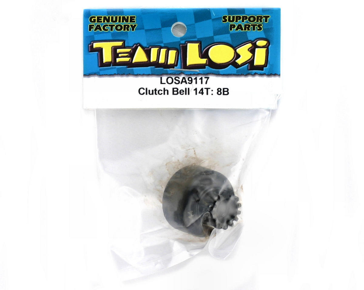 Losi Clutch Bell 14T: 8B/8T