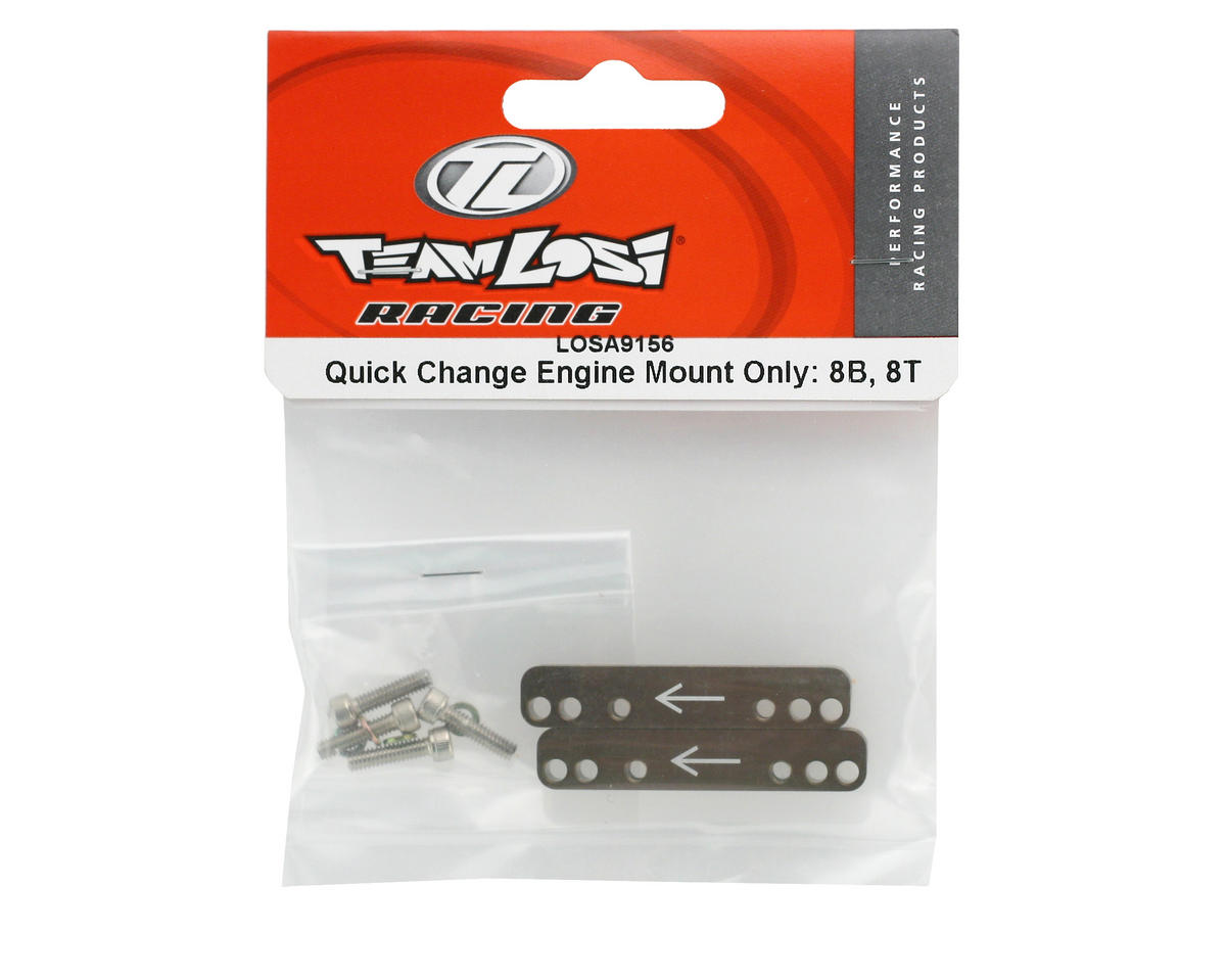 Losi Quick Change Engine Mount Only (8IGHT/8IGHT-T 2.0)