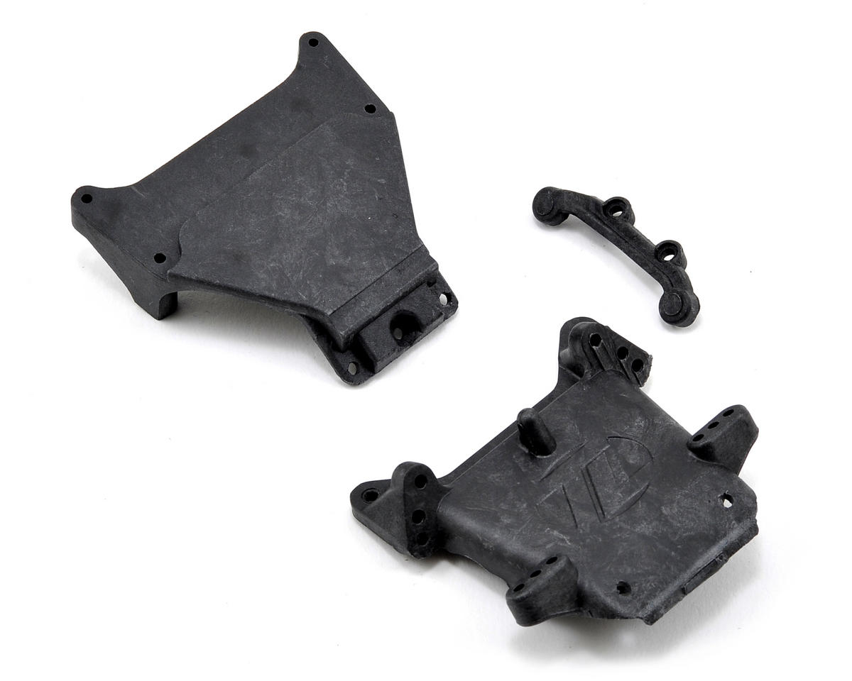 Losi Graphite Kickplate, Bulkhead & Steering Brace