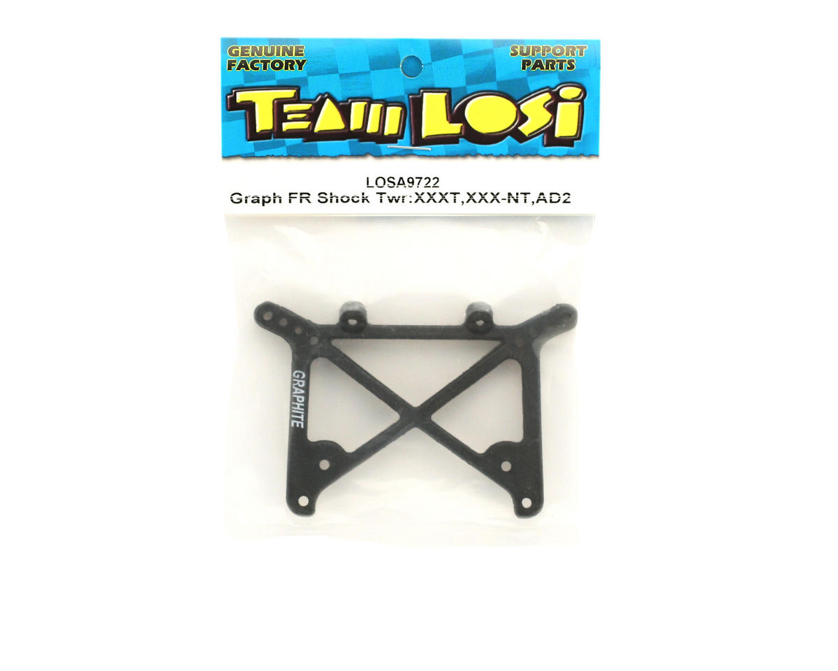 Losi Graphite Front Shock Tower (XXXT, XXX-NT, AD2)