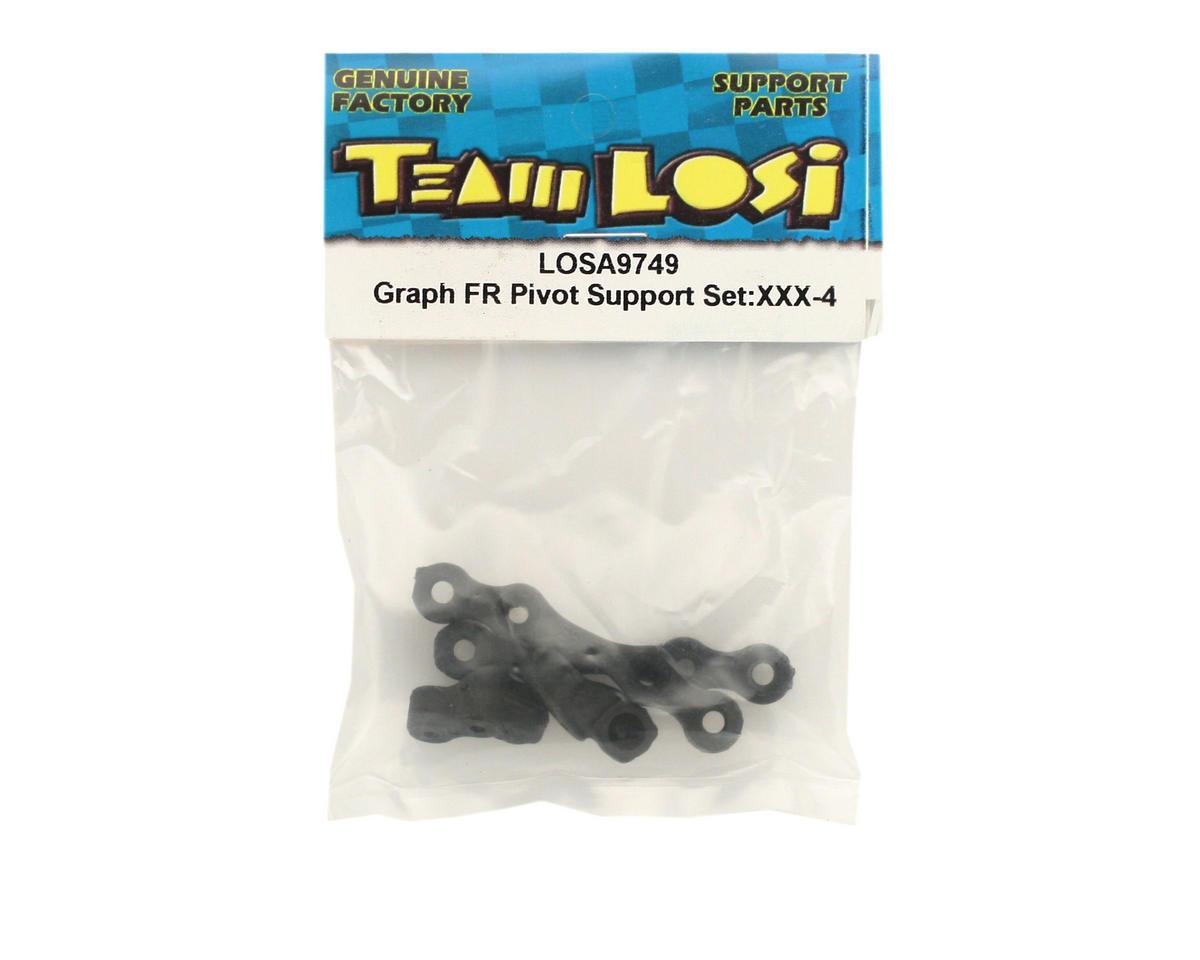 Losi Graphite Front Pivot Support Set (XXX-4)