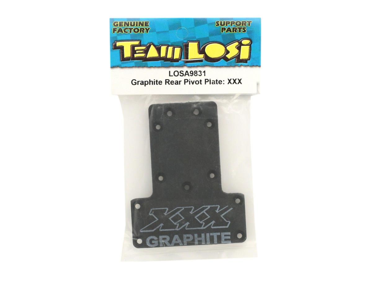 Losi Graphite Rear Pivot Plate (XXX)