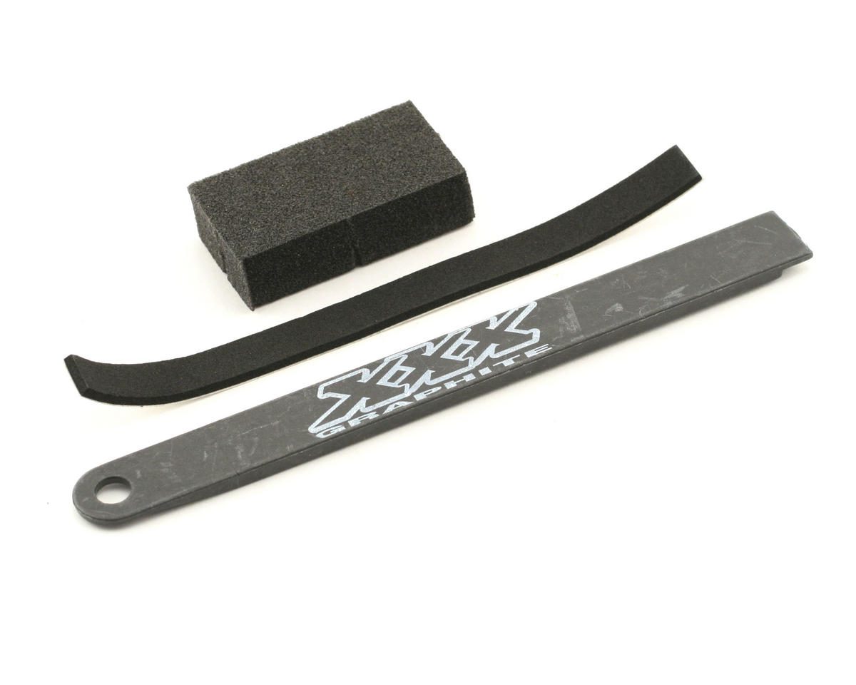 Losi Graphite Battery Strap,Pad,Foam (XXX)