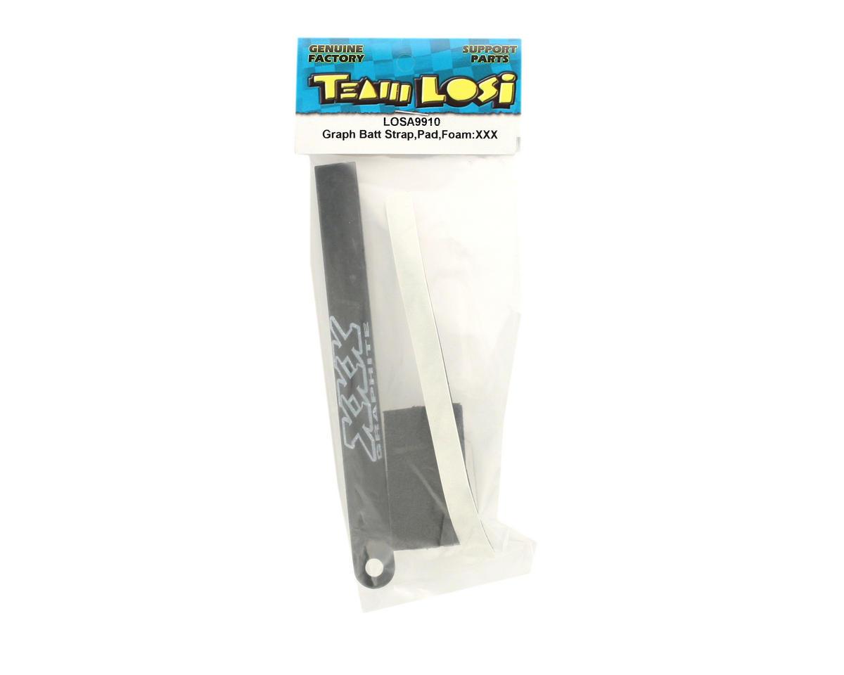Losi Graphite Battery Strap,Pad,Foam (XXX)