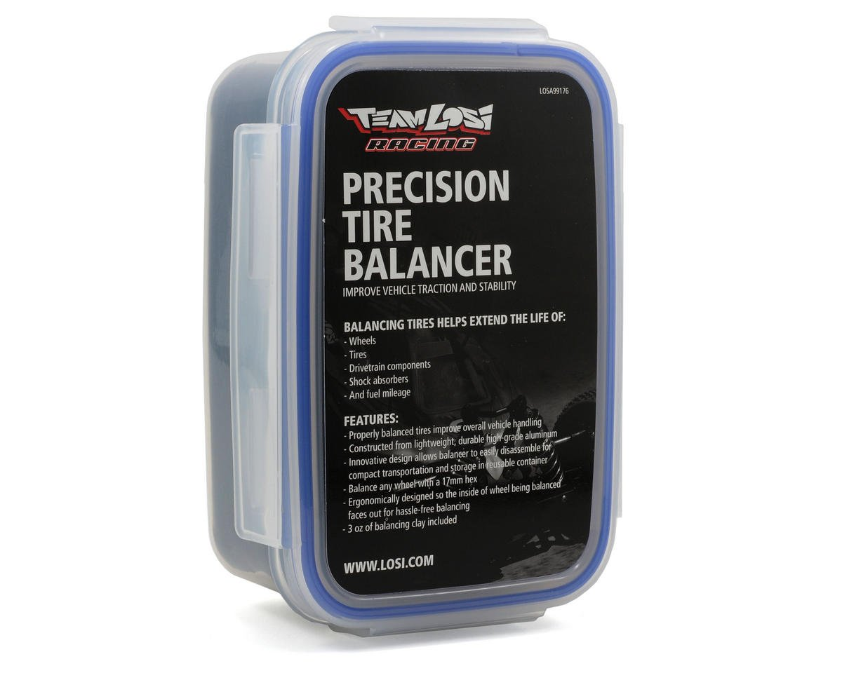 Losi Precision Tire Balancer w/Balancing Clay