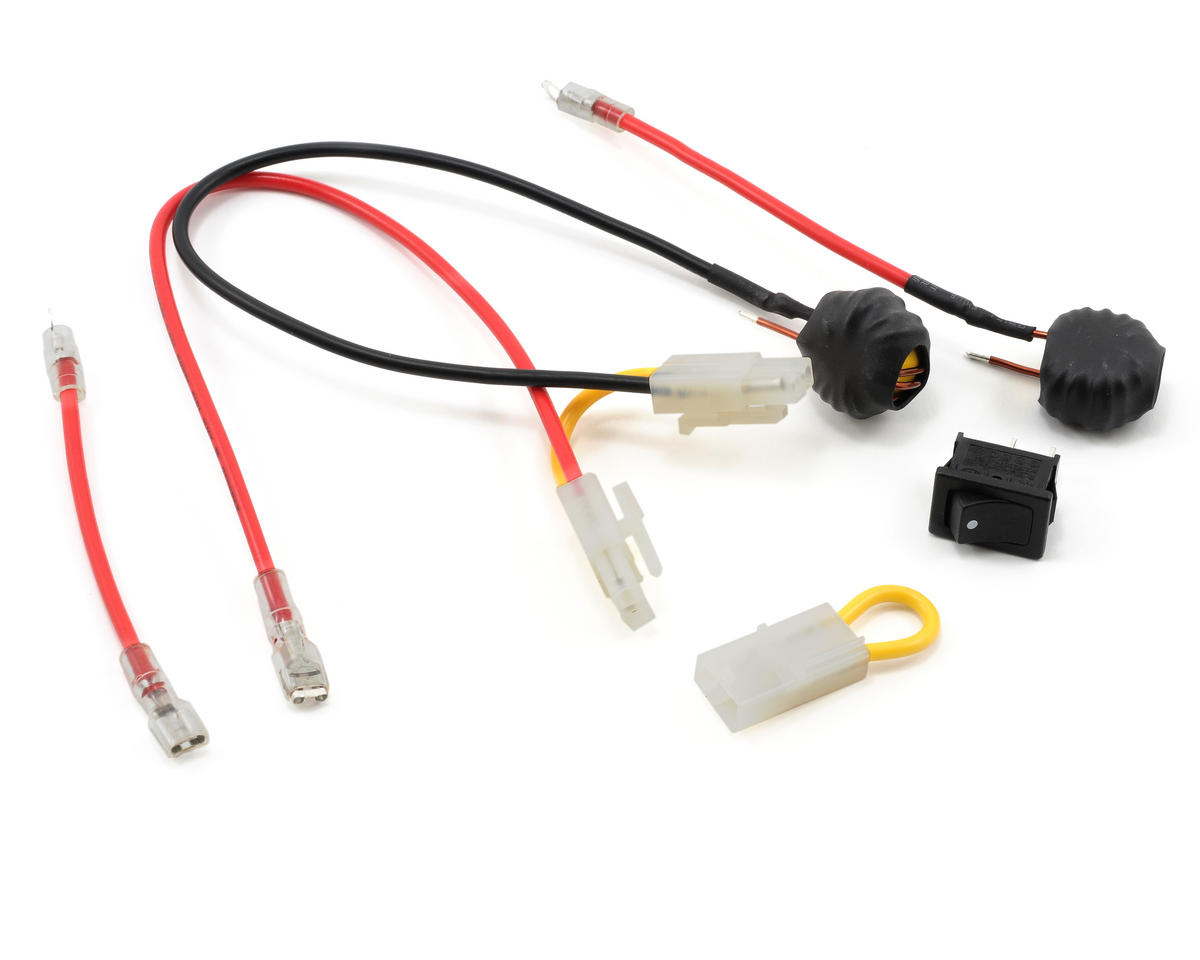 Losi Starter Switch & Wire Hardware Set
