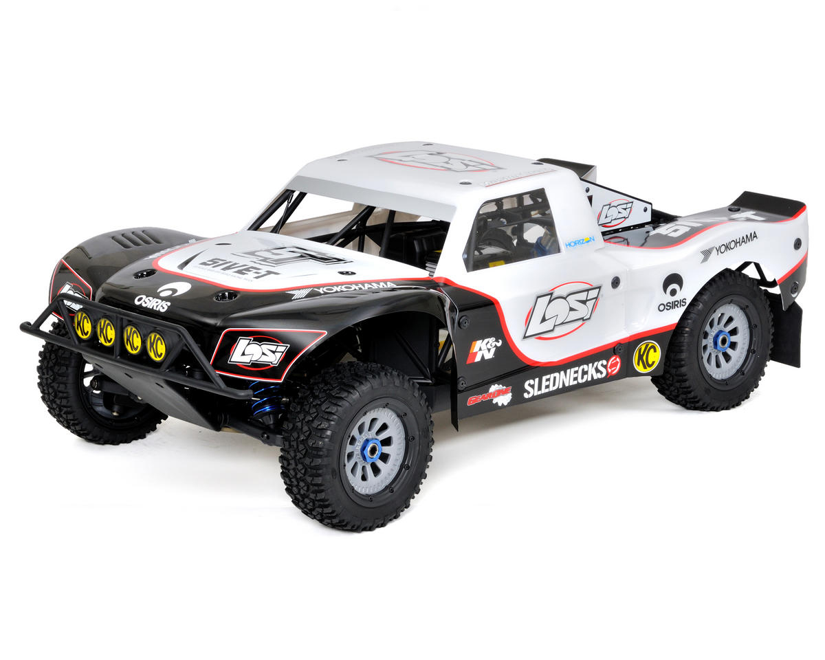 Losi 5IVE-T 1/5 Scale 4WD Short Course Truck w/26cc Gasoline Engine (White) (Bin