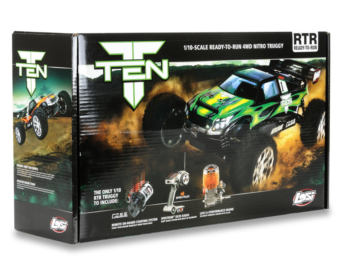 Losi 1/10 TEN-T Truggy RTR