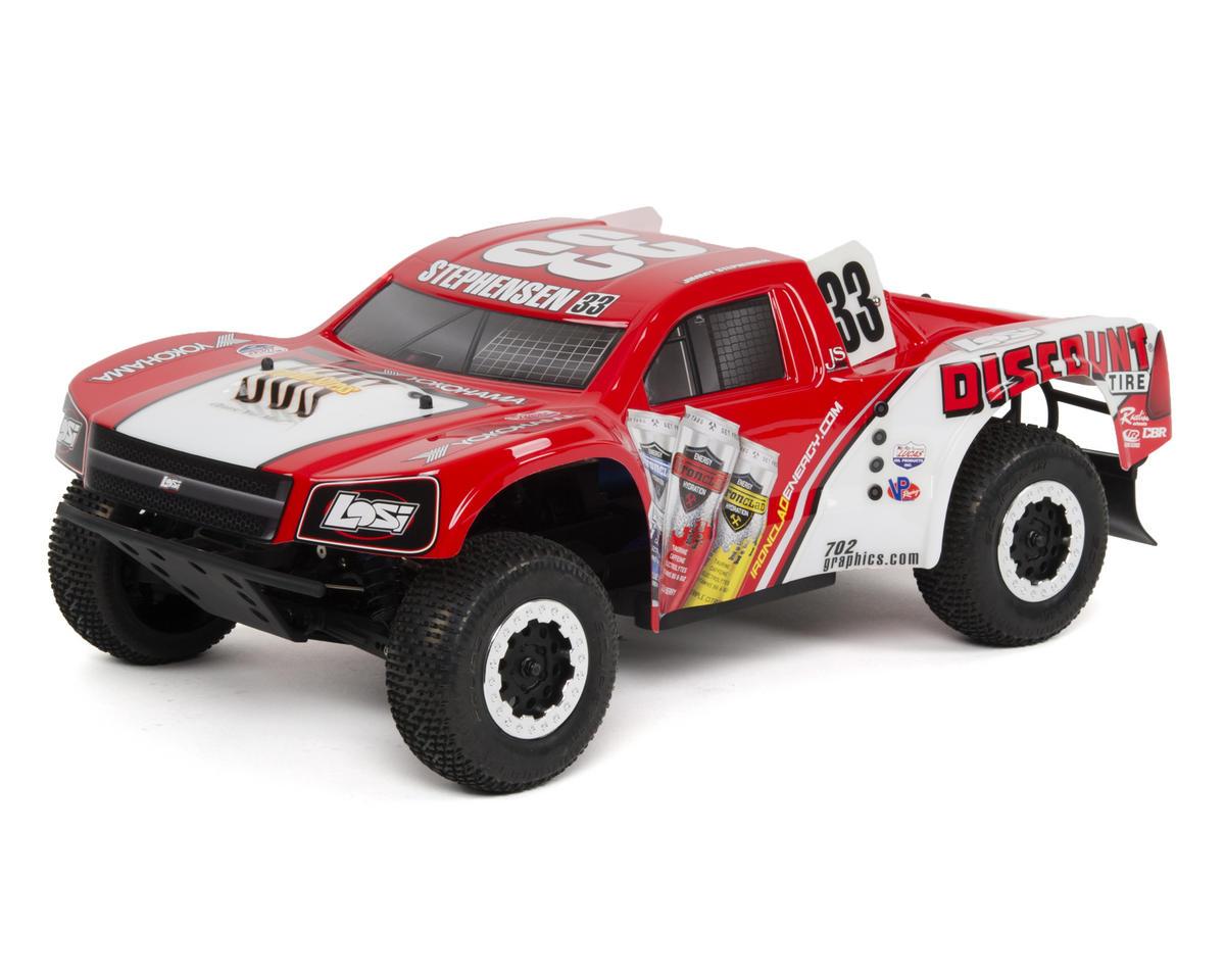 Losi TEN-SCTE 1/10 Scale 4WD RTR Short Course Truck w/DX3E Radio