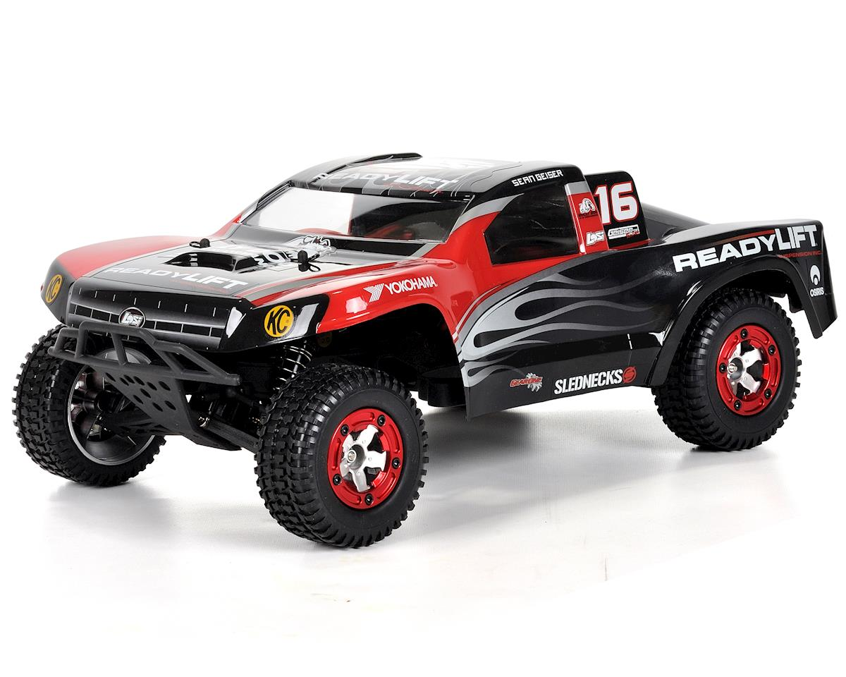 "Losi ""ReadyLift"" 1/16 Scale Electric Short Course Truck (Bind-N-Drive)"