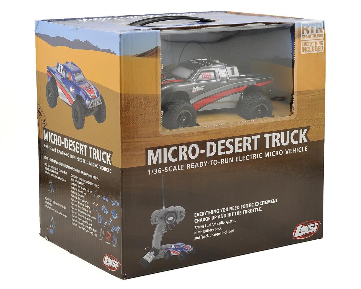 Losi 1/36 Micro Desert Truck RTR (Grey)