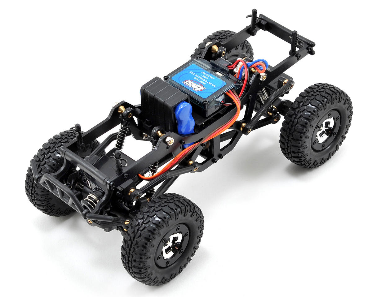 Losi 1/24 Micro 4x4 Trail Trekker RTR (Black)