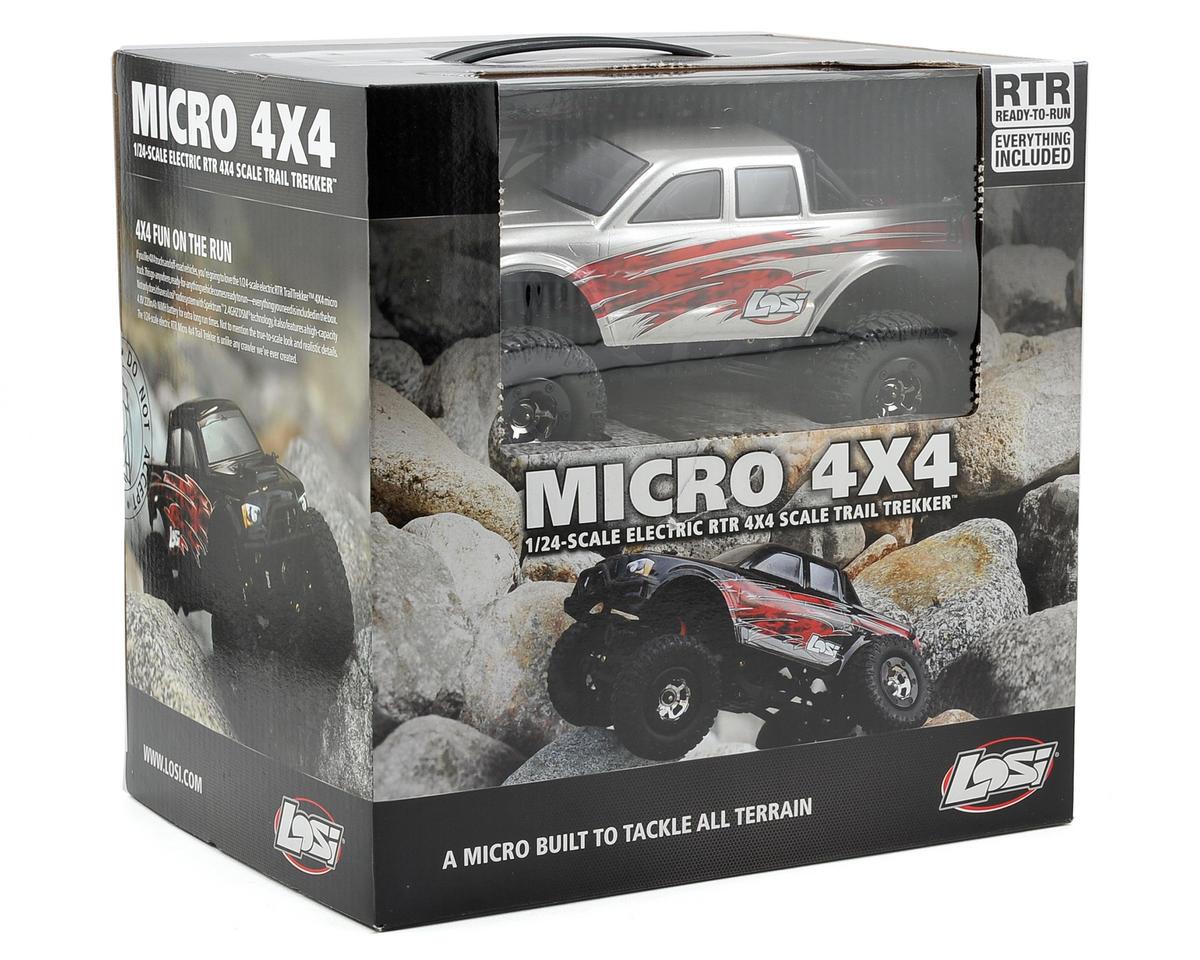 Losi 1/24 Micro 4X4 Trail Trekker RTR (Silver)