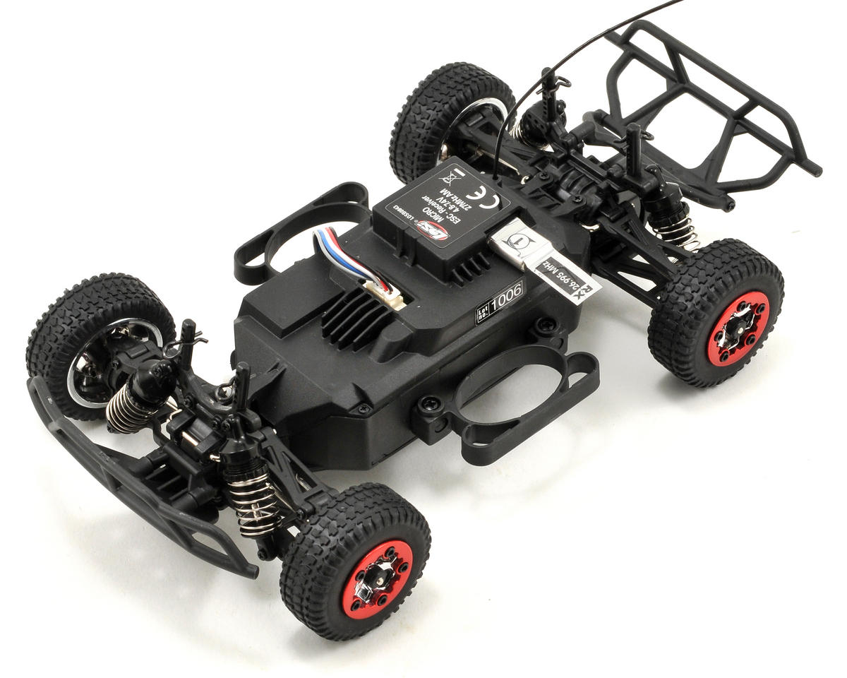 Losi 1/24 4WD Short Course Truck RTR (Grey/Black/Red)