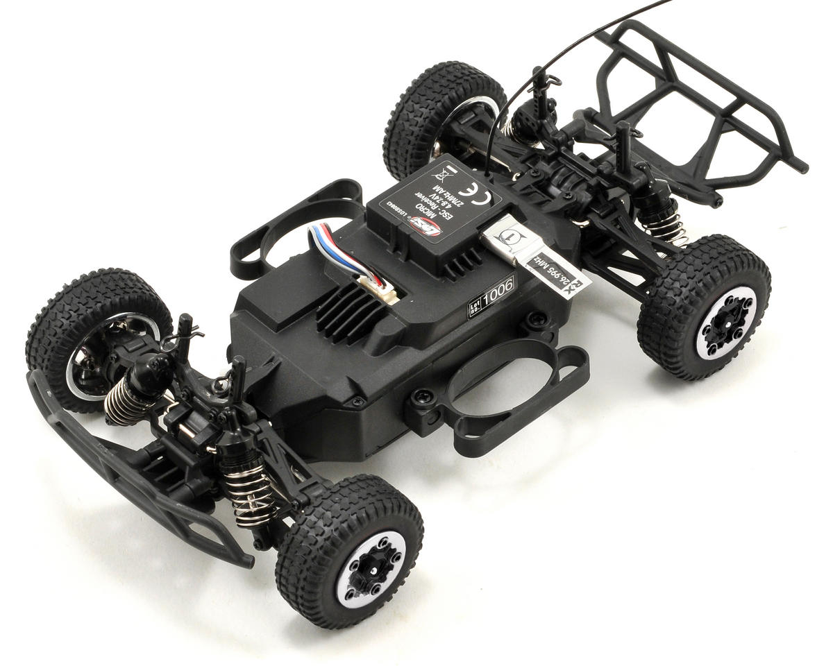 Losi 1/24 4WD Short Course Truck RTR (Black/Grey)