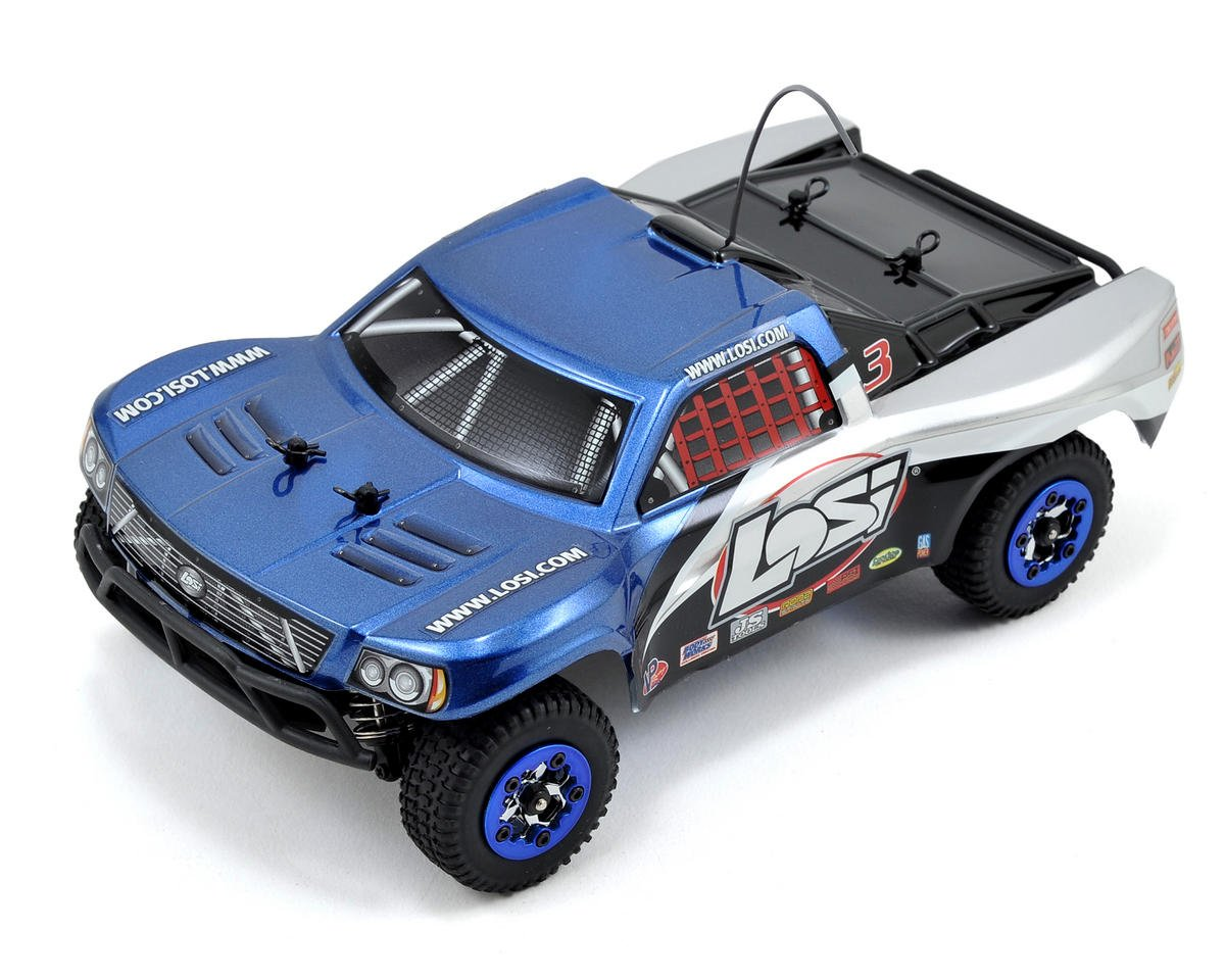 Losi 1/24 Micro Brushless SCT RTR w/2.4GHz Radio System (Blue)