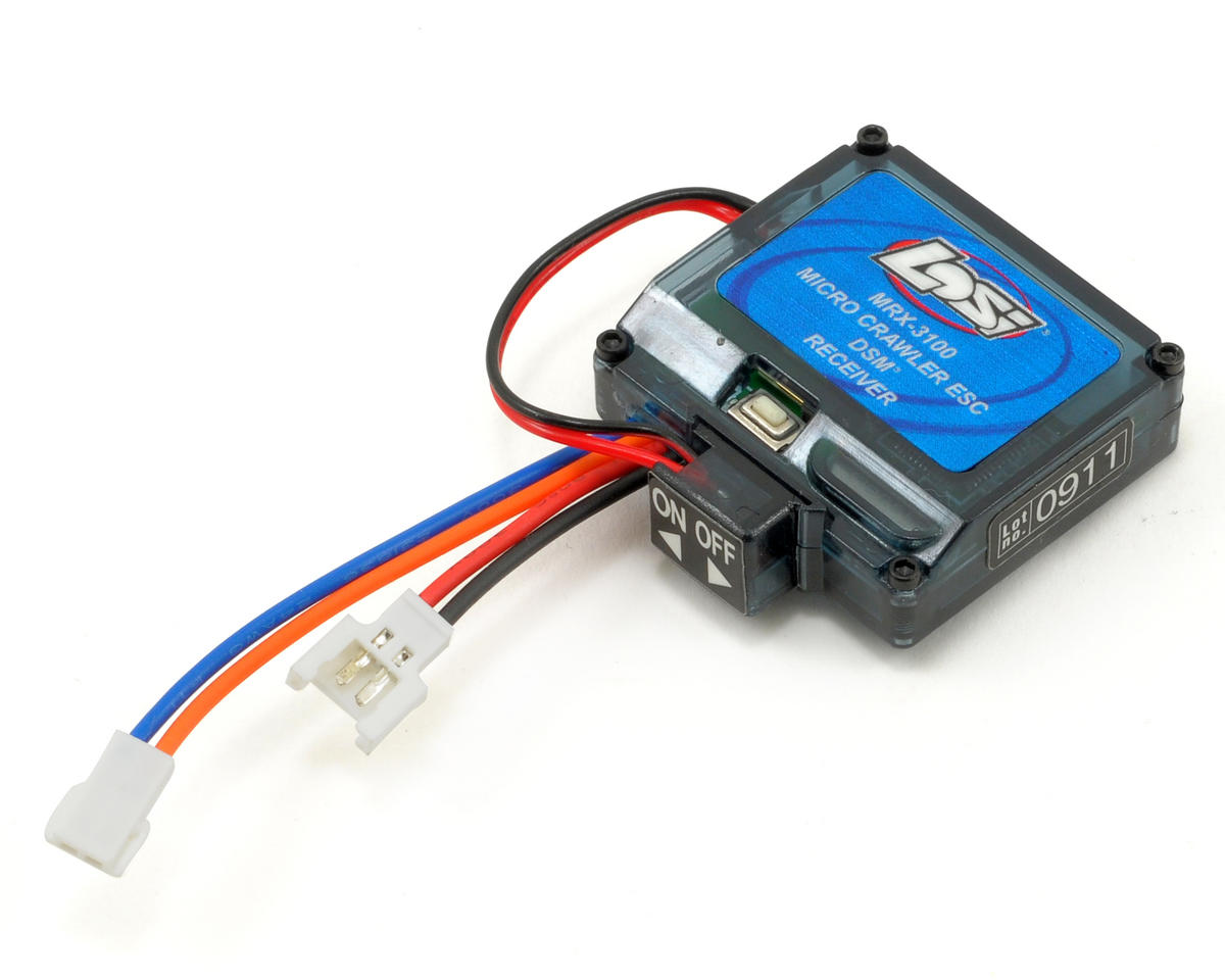 Losi Micro 4x4 Trail Trekker MRX-3100 Integrated ESC/DSM Combo