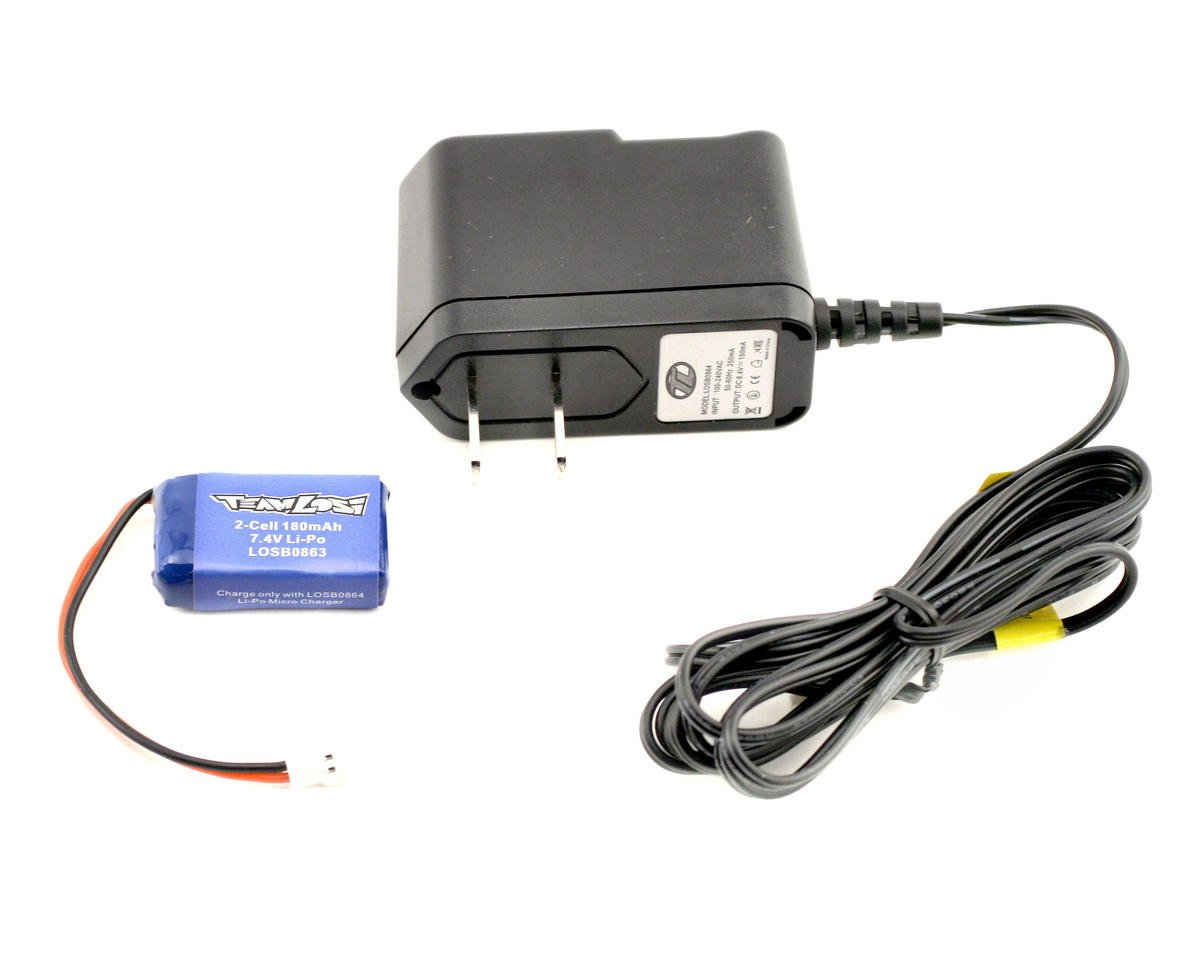 Losi LiPo Charger & Battery