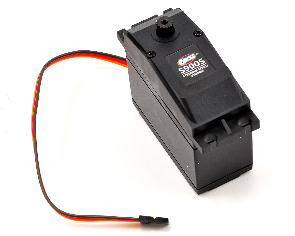 S900S 1/5 Scale Metal Gear Steering Servo (High Voltage) by Losi Monster Truck XL
