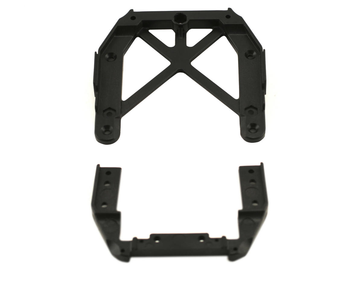 Losi Front/Rear Upper Chassis Brace Set (MLST/2)