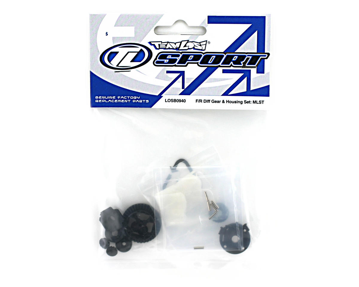 Losi Front/Rear Differential Gears & Housing (Mini-LST)