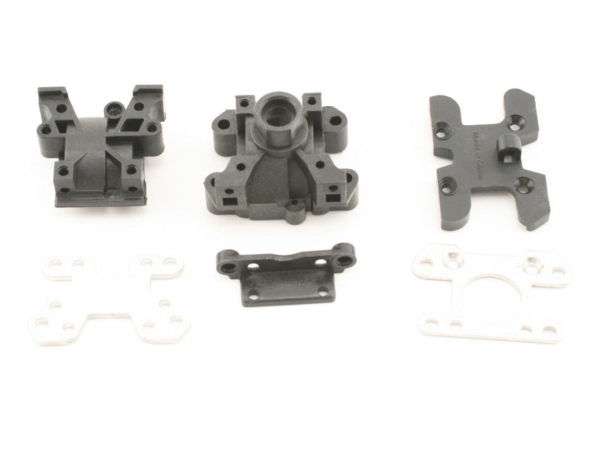 Losi Front/Rear Gearbox & Bracket Set (MLST/2)