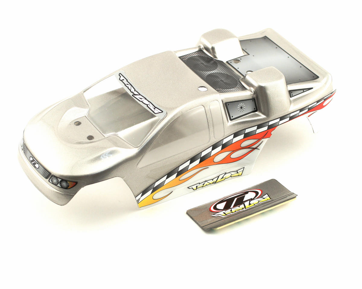 Losi Painted Body (Silver) (Mini-T)