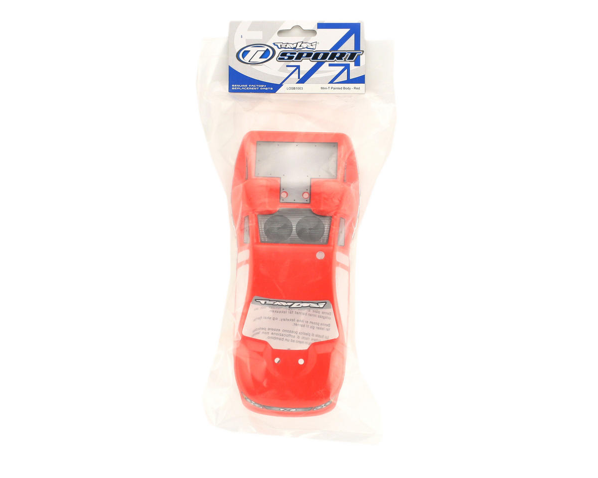 Losi Painted Body (Red) (Mini-T)
