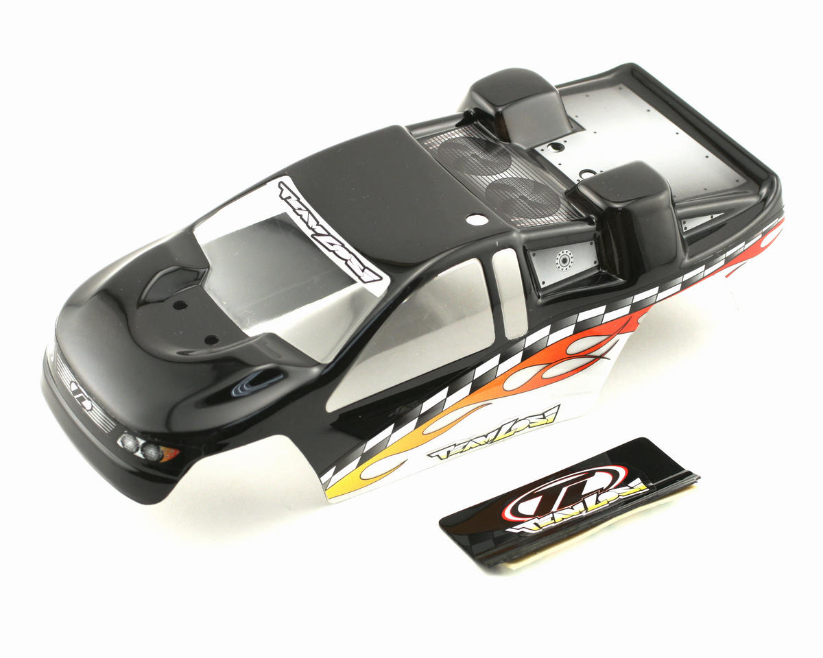 Losi Painted Body (Black) (Mini-T)
