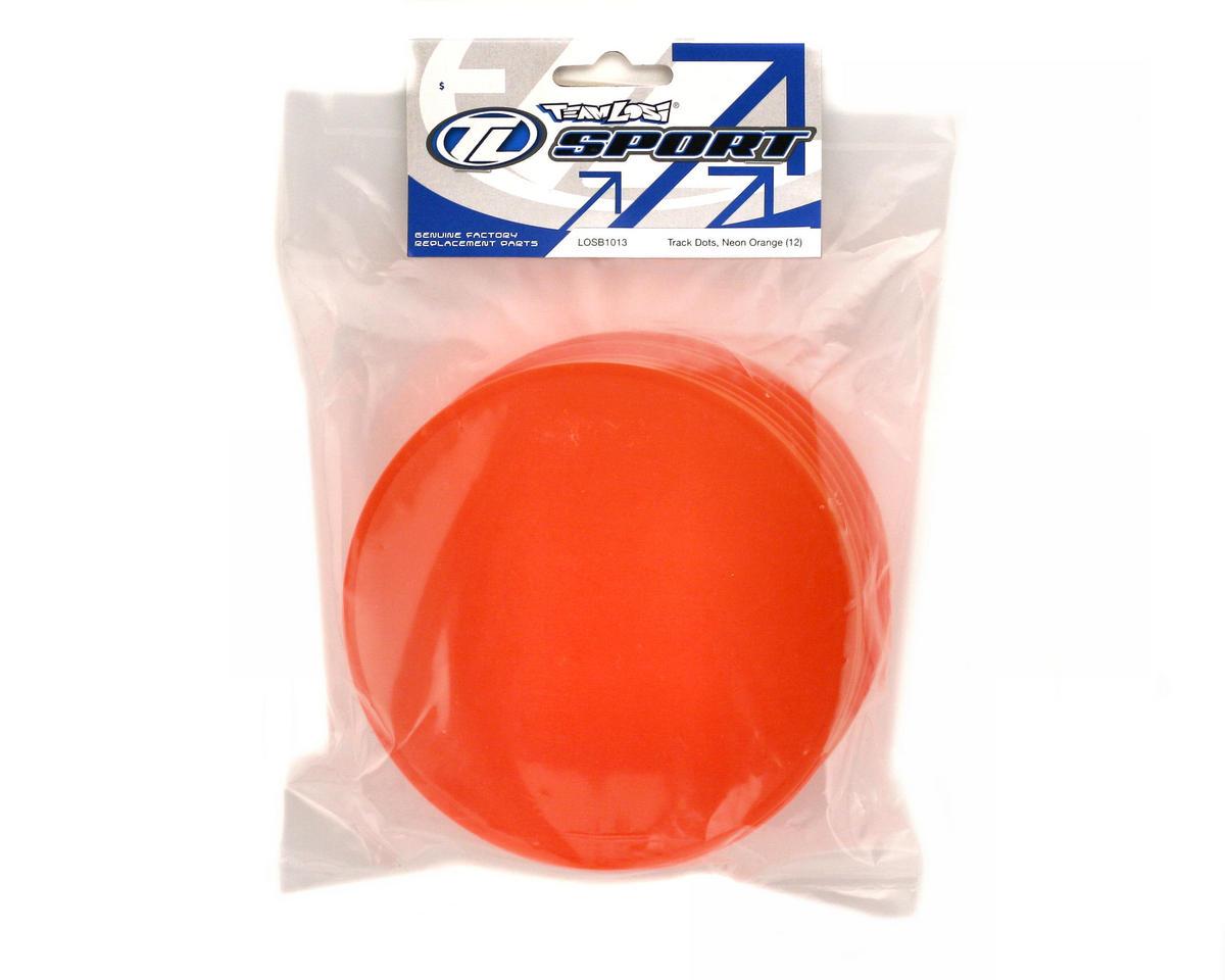 Losi Track Dots, Neon Orange (12)
