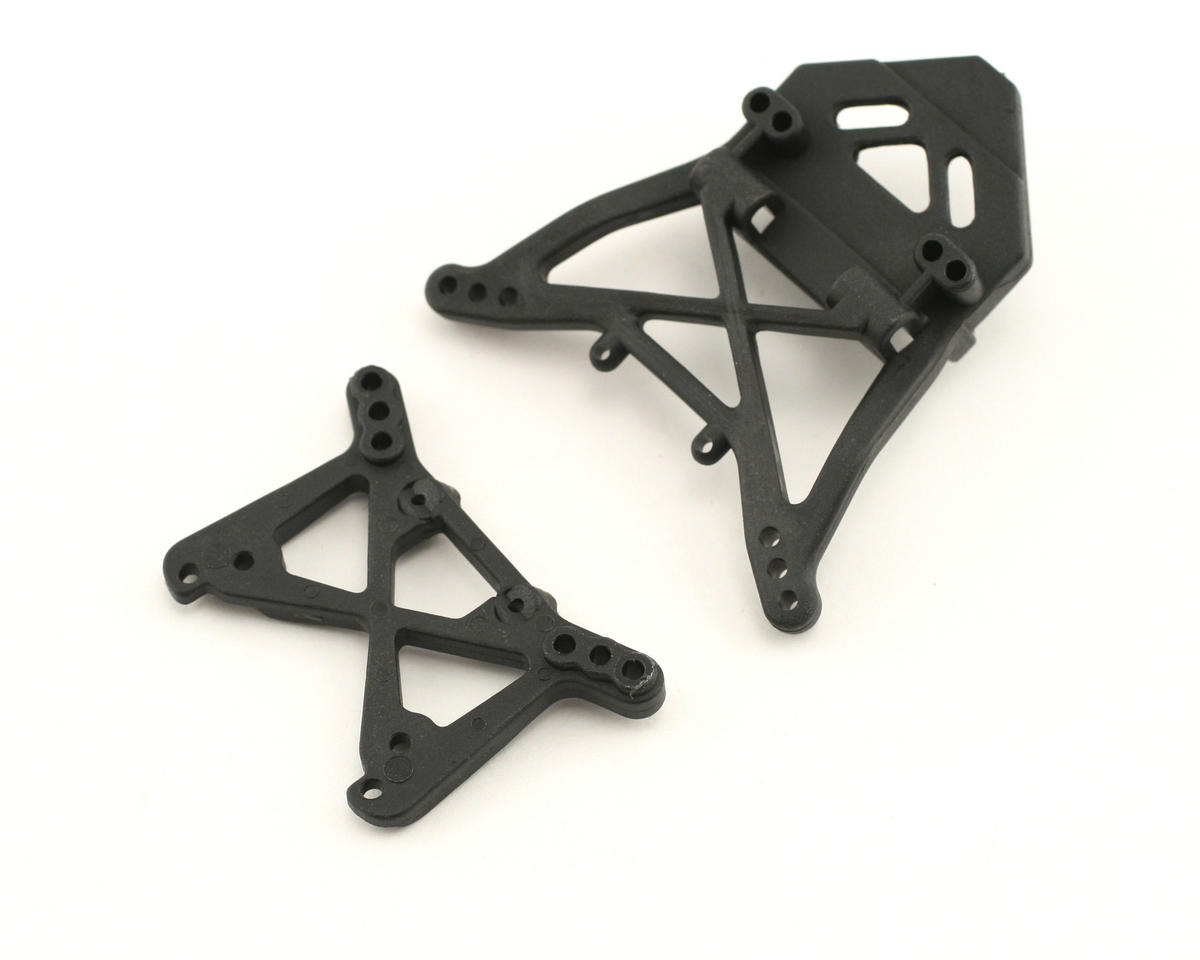Losi Front/Rear Shock Tower Set (Mini-T)