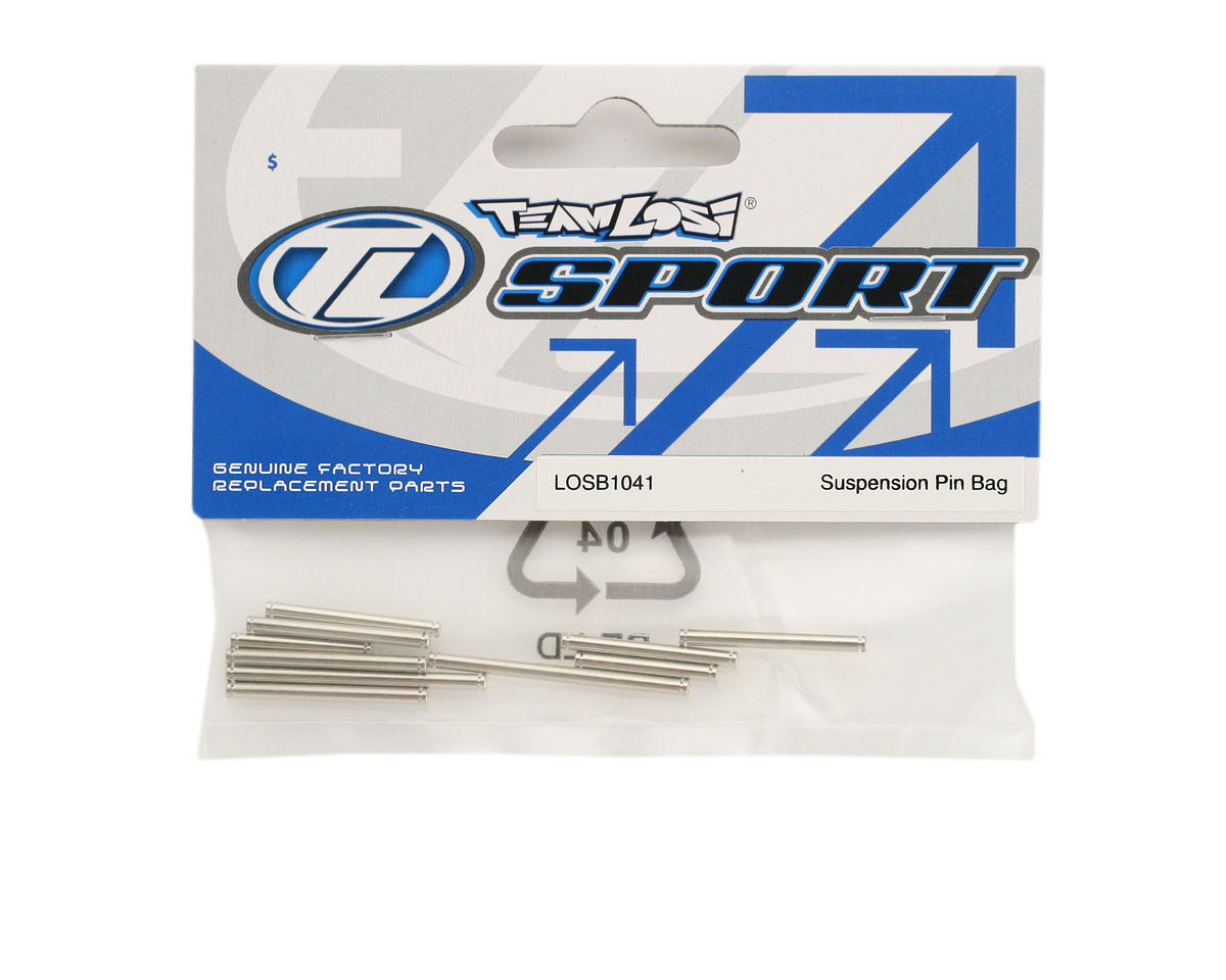Losi Suspension Hinge Pin Bag (Mini-T)