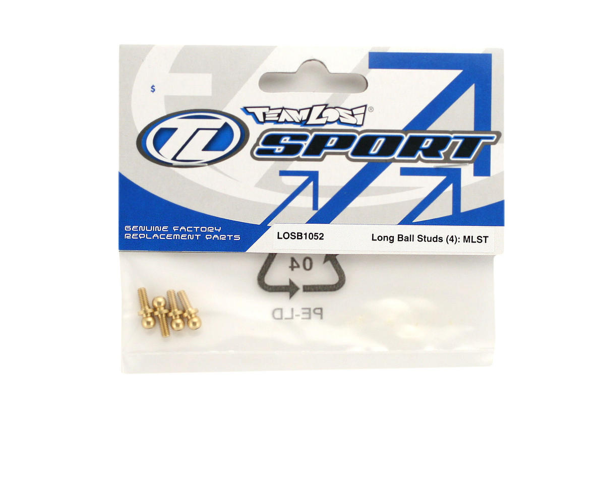 Losi Ball Studs, Long (4) (MLST/2)