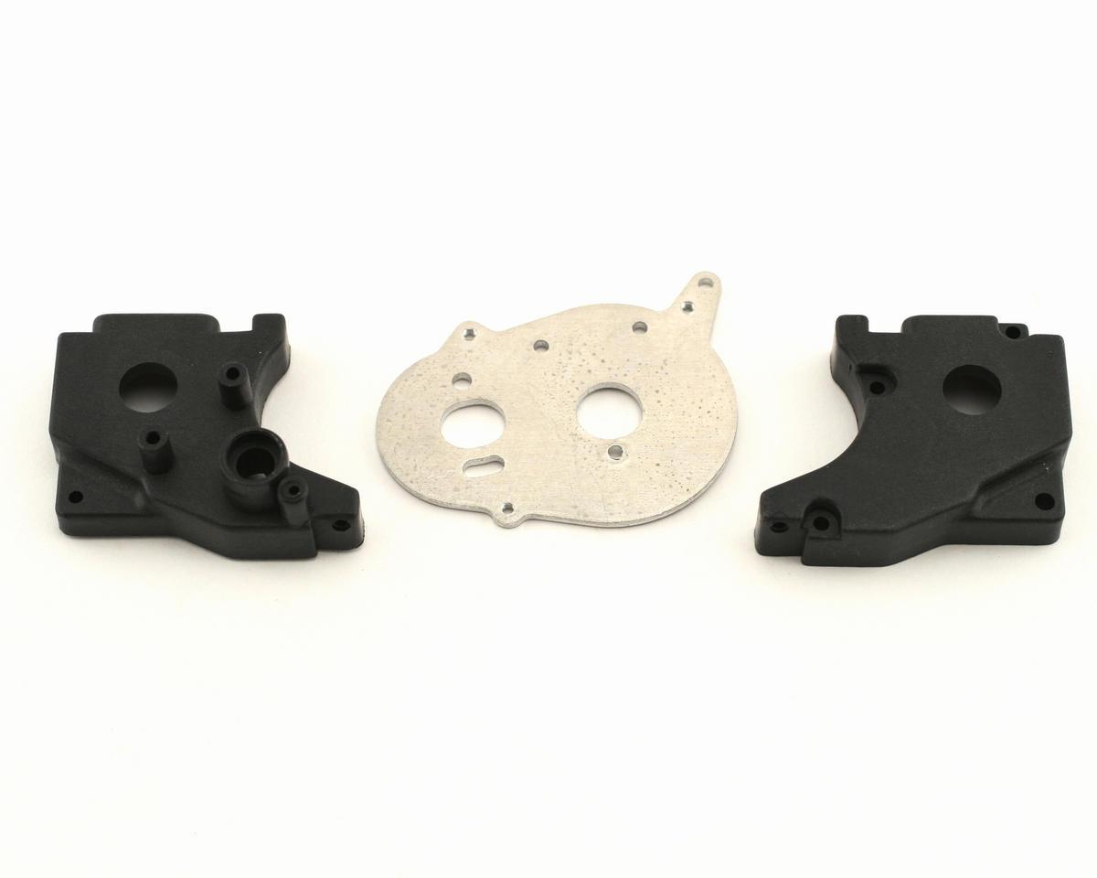 Losi Transmission Case/Motor Plate Set (Mini-T)