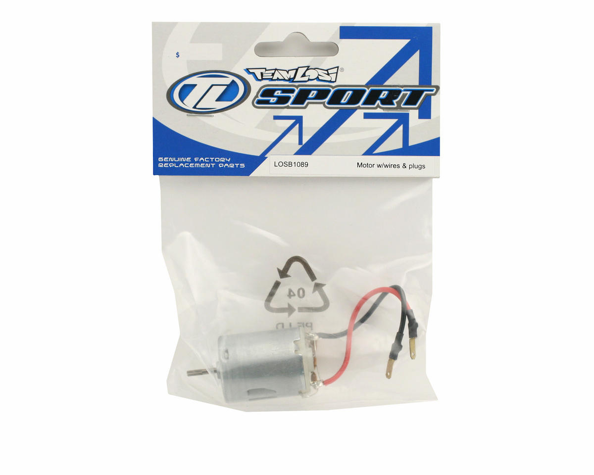 Losi Motor With Wires & Plugs (Mini-T)