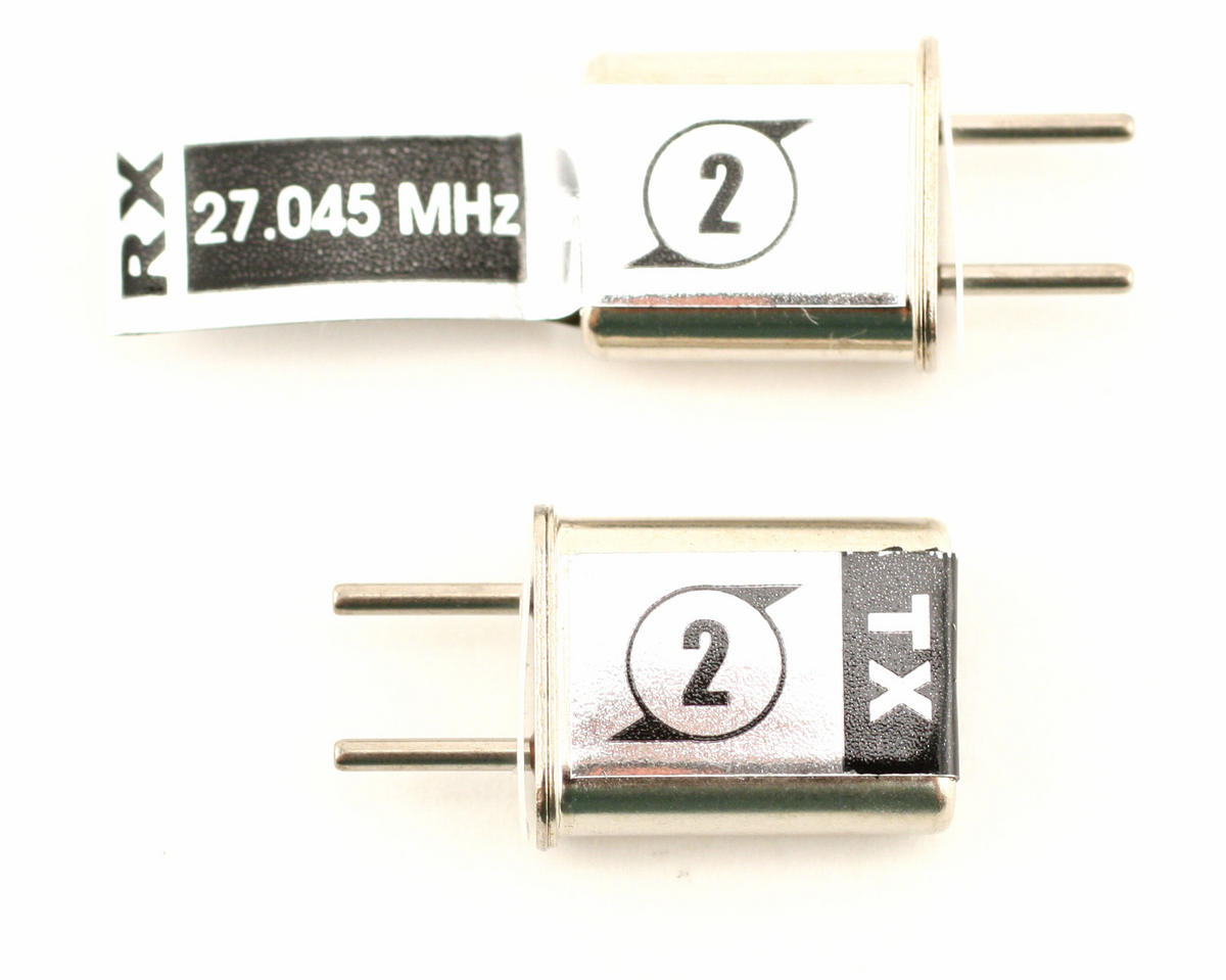 Losi Crystal Set (CH 2 27.045 (Mini-T, Micro-T)
