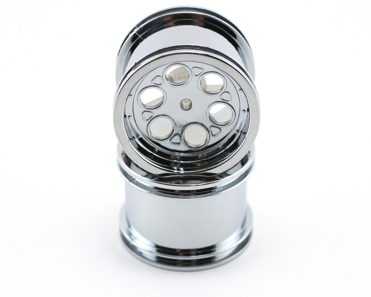 Losi Rear Deep Dish Chrome Wheel (2)
