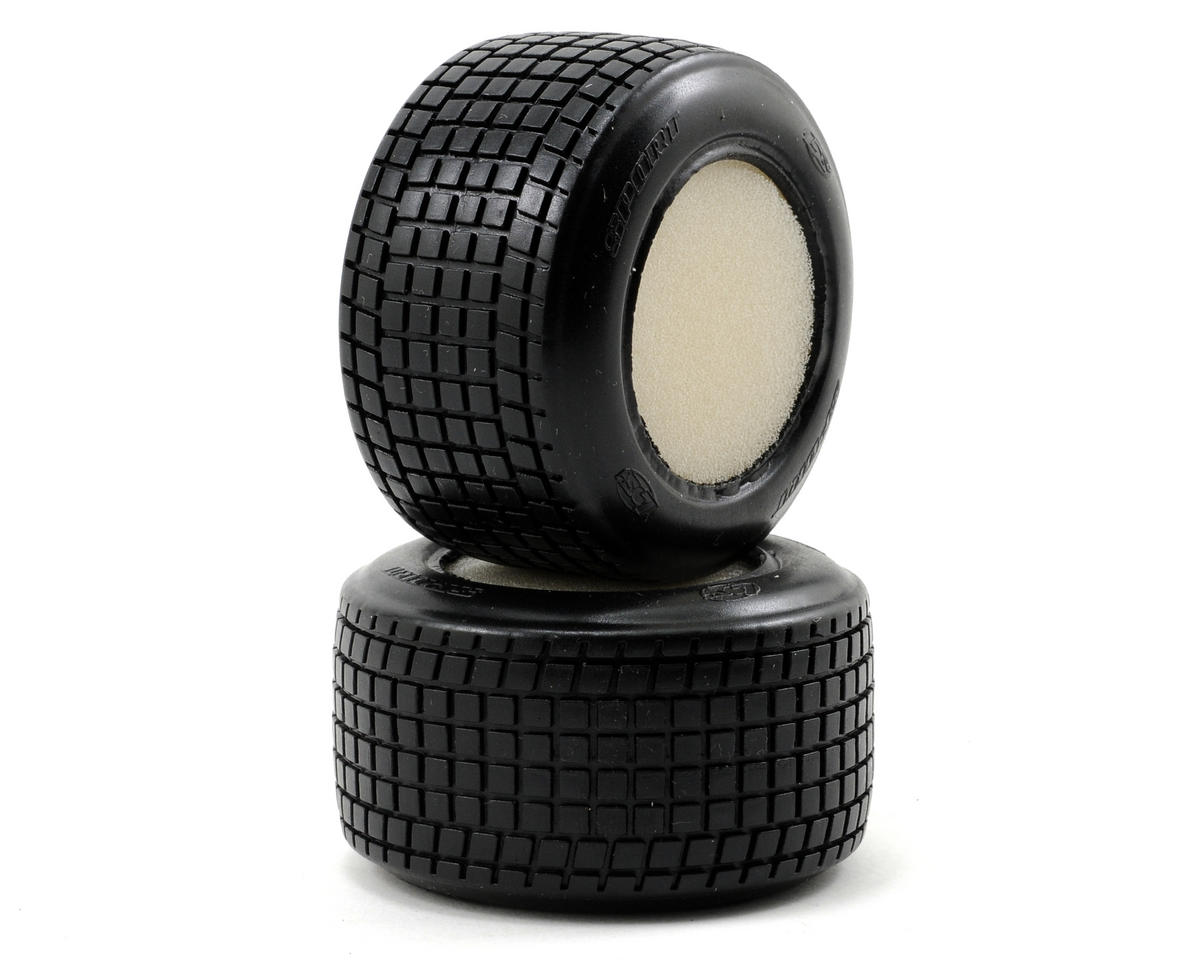 Losi Mini Rear Tires (2) (Mini-Late Model)