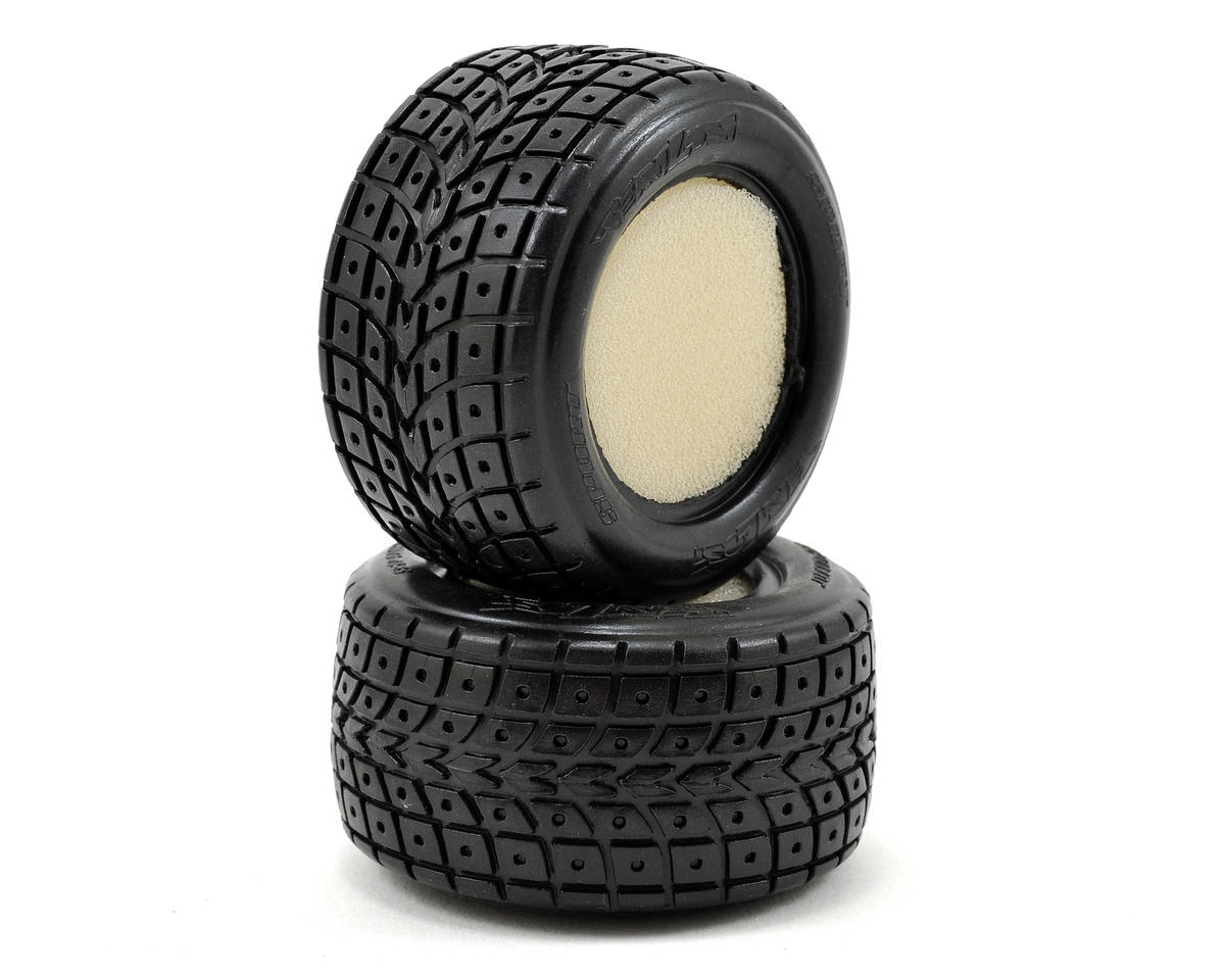Losi Mini-T StreetMeat Tires w/Foam (2) (Mini-T)